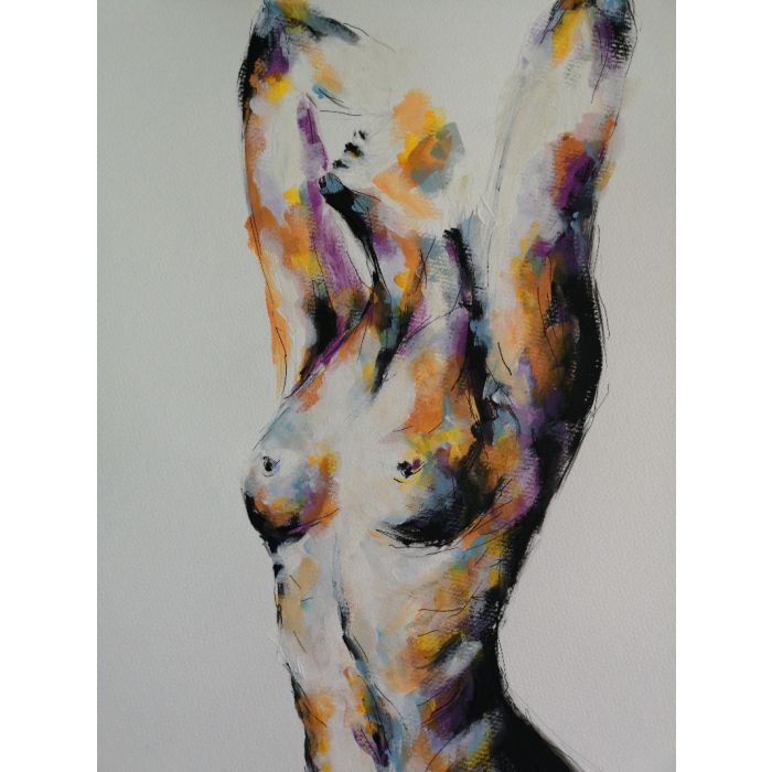 Nude abstract art
