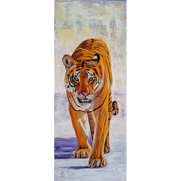 Tiger for a Walk