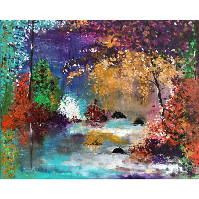 Pleasant Abstract Painting
