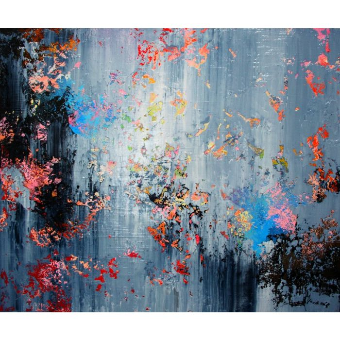 120X100CM. / ABSTRACT PAINTING / ABSTRACT 104