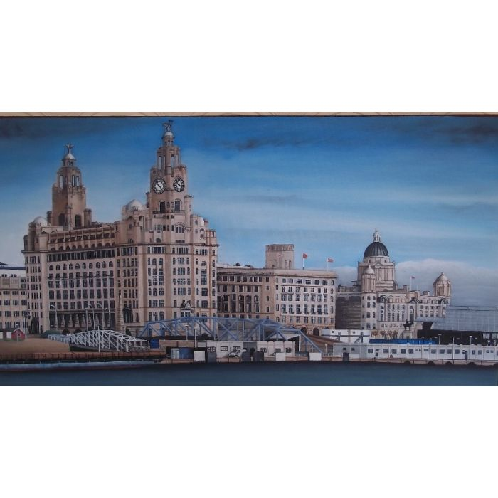 """""""LIVER BUILDING AND PIER HEAD. LIVERPOOL"""""""