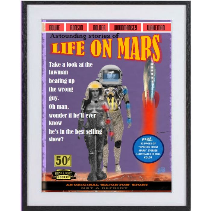 Life On Mars: large framed limited edition print