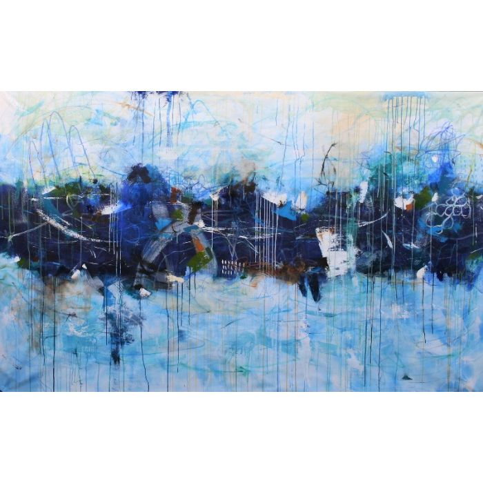 Maybe Tomorrow Huge Abstract Painting 252 x 157 Abstract Painting