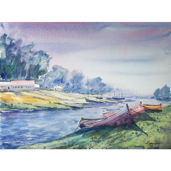 Boats on a morning