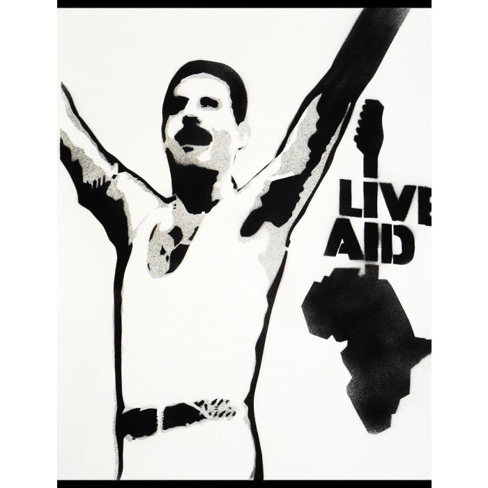 Popiconic moment 2: Live Aid (on The Daily Telegraph).