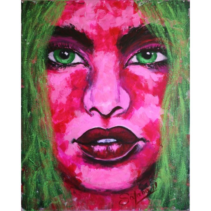 PORTRAIT of Girl ... Colorful