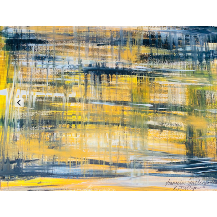 How Lovely Yellow Is Abstract Original