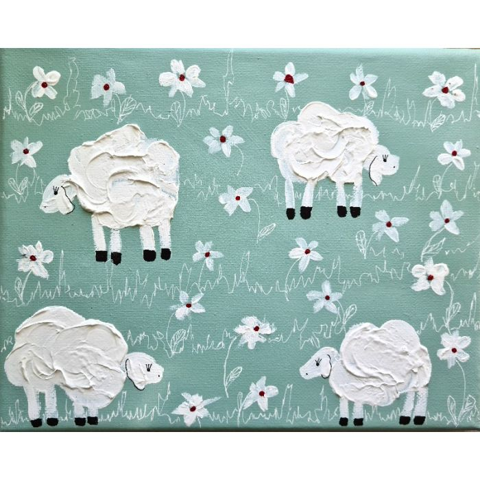 Sheeps&Blooms in Mint