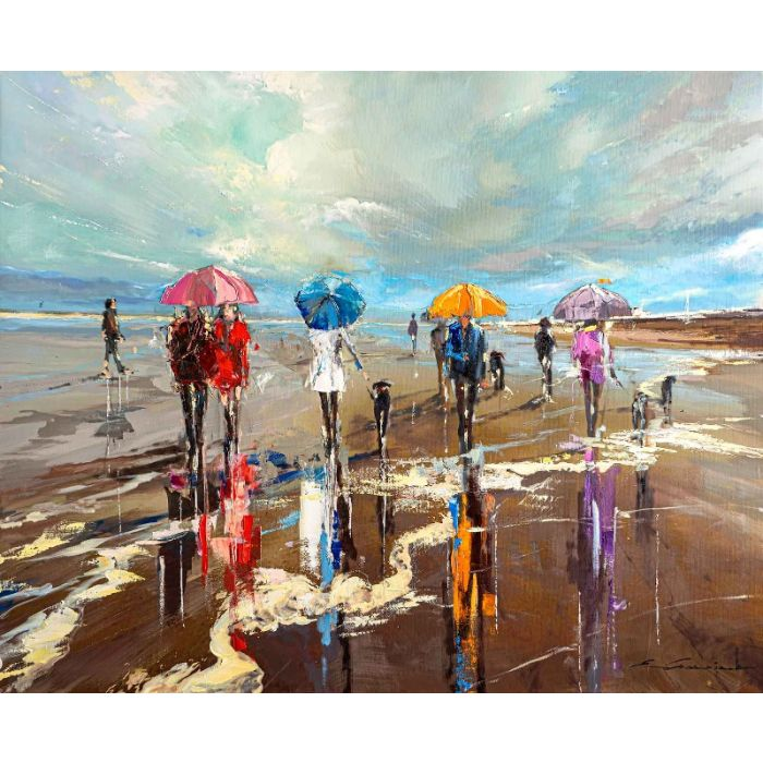 'Summer Calling' Giclee Canvas Print