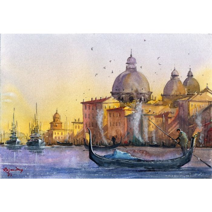 Sunset at Venice _01