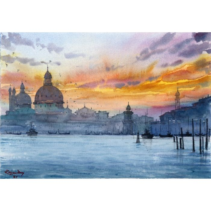 Sunset at Venice _02