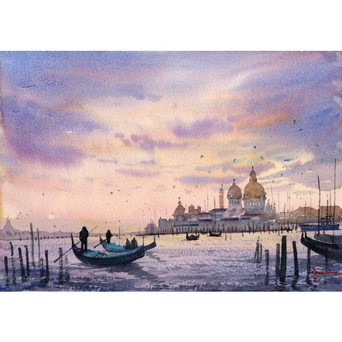 Sunset at Venice _03