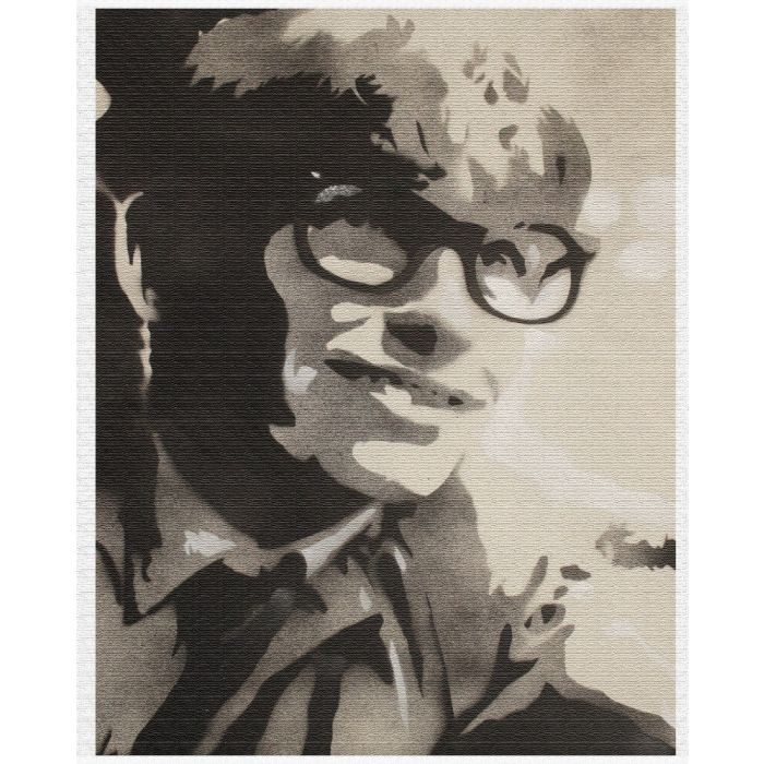 The theory of everything (Stephen Hawking) (on canvas)