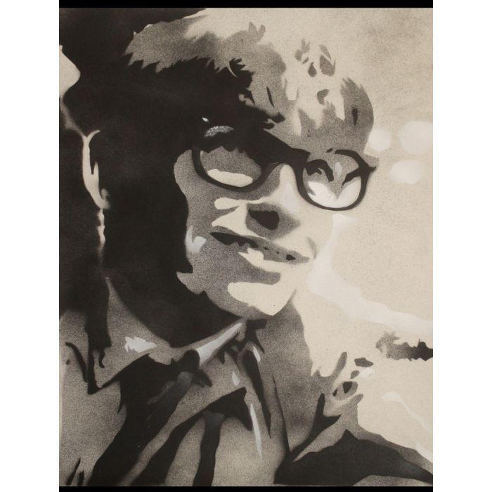 The theory of everything (Stephen Hawking) (on plain paper).