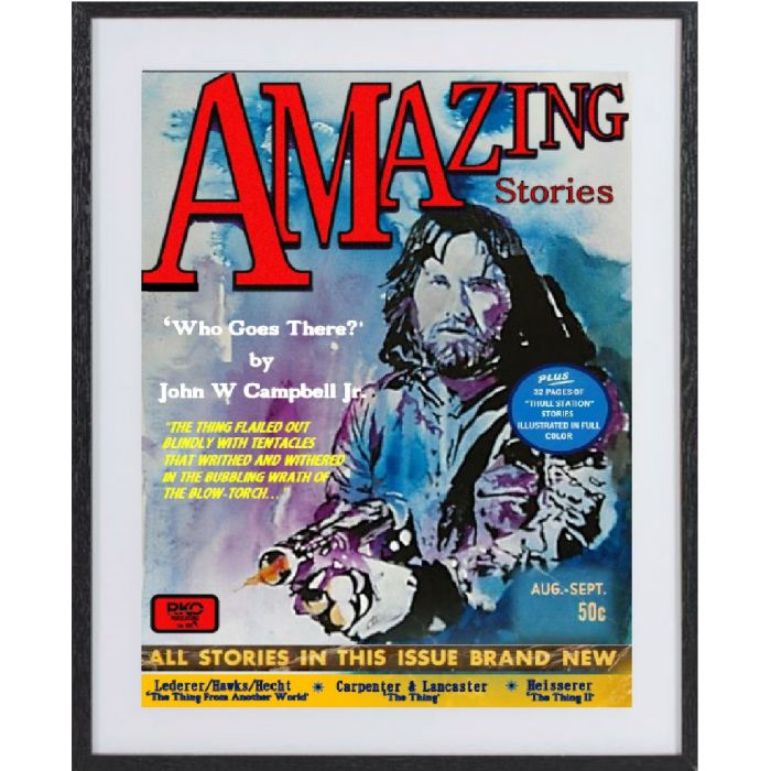 The Thing: large framed limited edition print