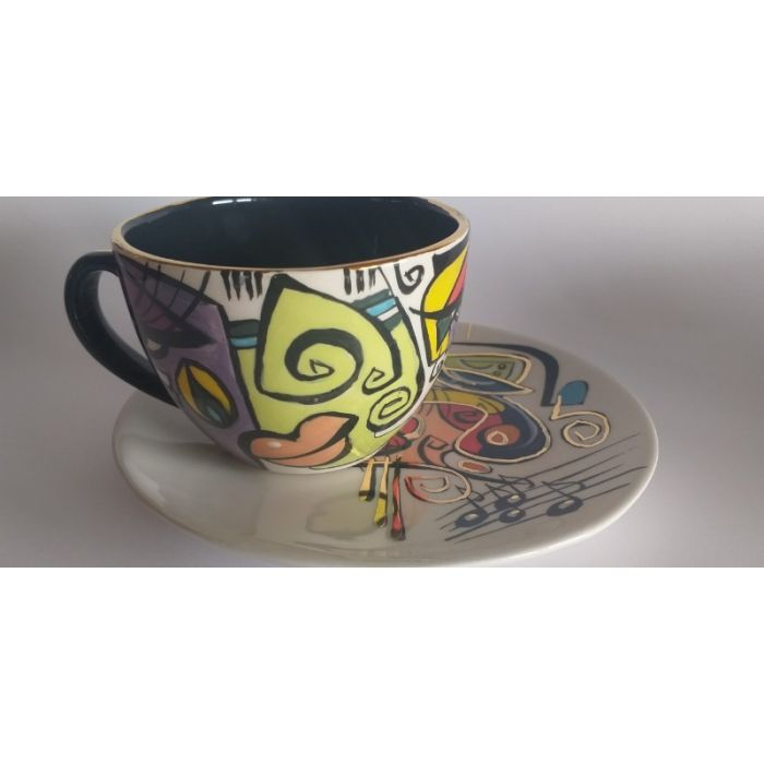 ENIGMA cups&saucers/ IRA