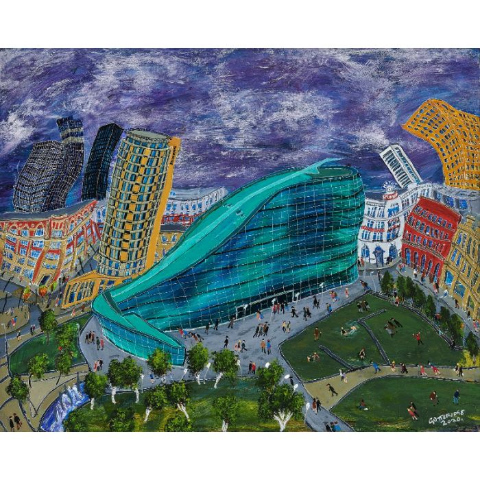 Urbis with Lowry Matchstick Men Limited Edition of 50 Print