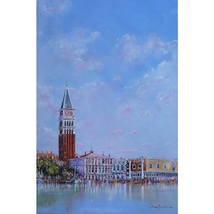 Venice  St.  Marks Tower    SN 028
