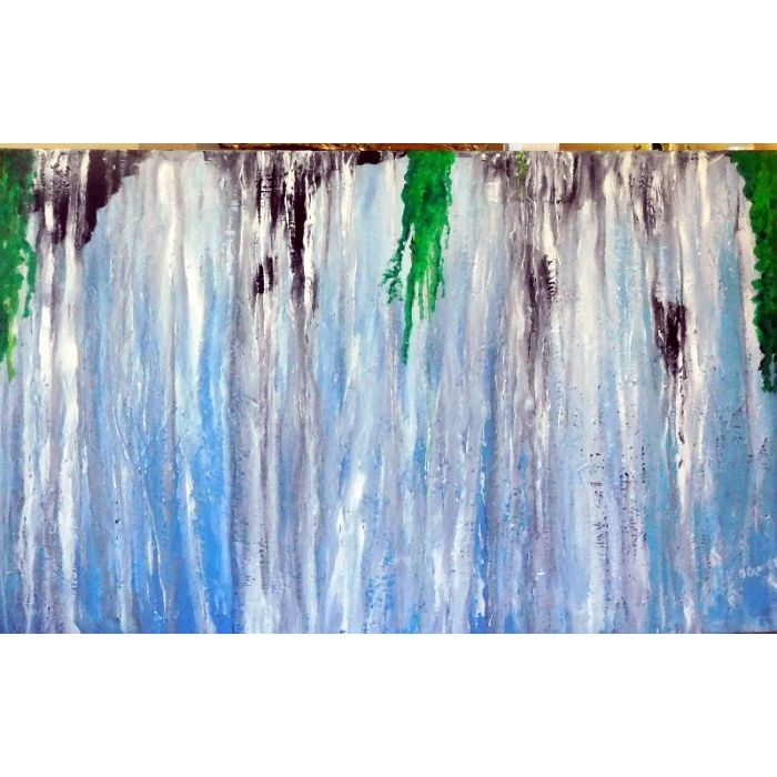 The Waterfall   (Ready to Hang)