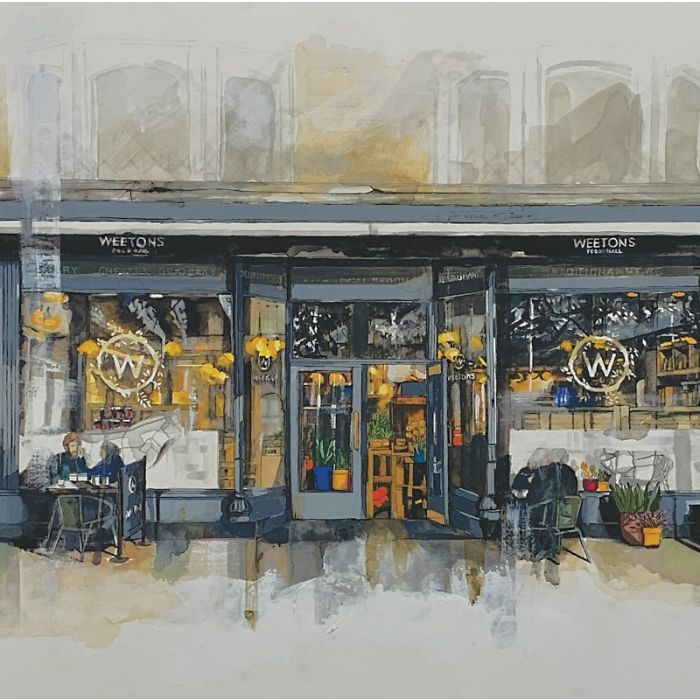 Weetons Cafe Harrogate Limited Edition Print