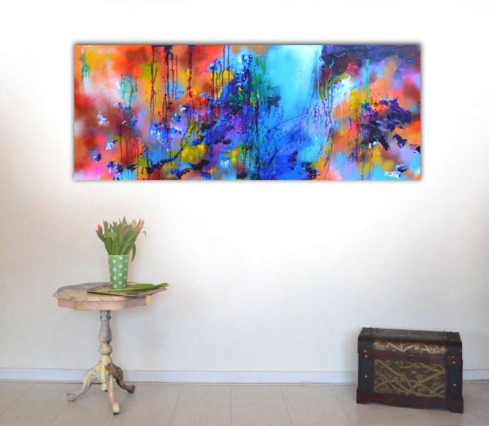Fresh Moods 17, Large Abstract Painting