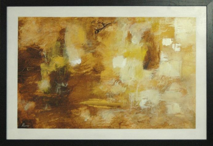 ABSTRACT VARIATIONS # 91. FRAMED.