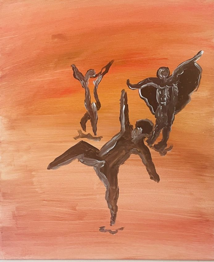 Abstract Art - The Dance