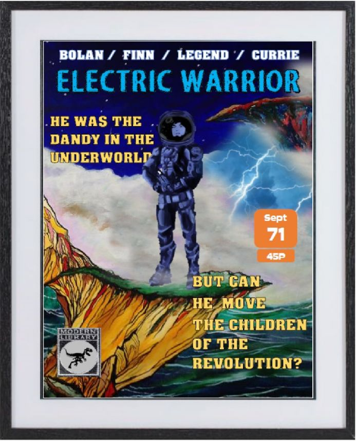Electric Warrior: large framed limited edition print