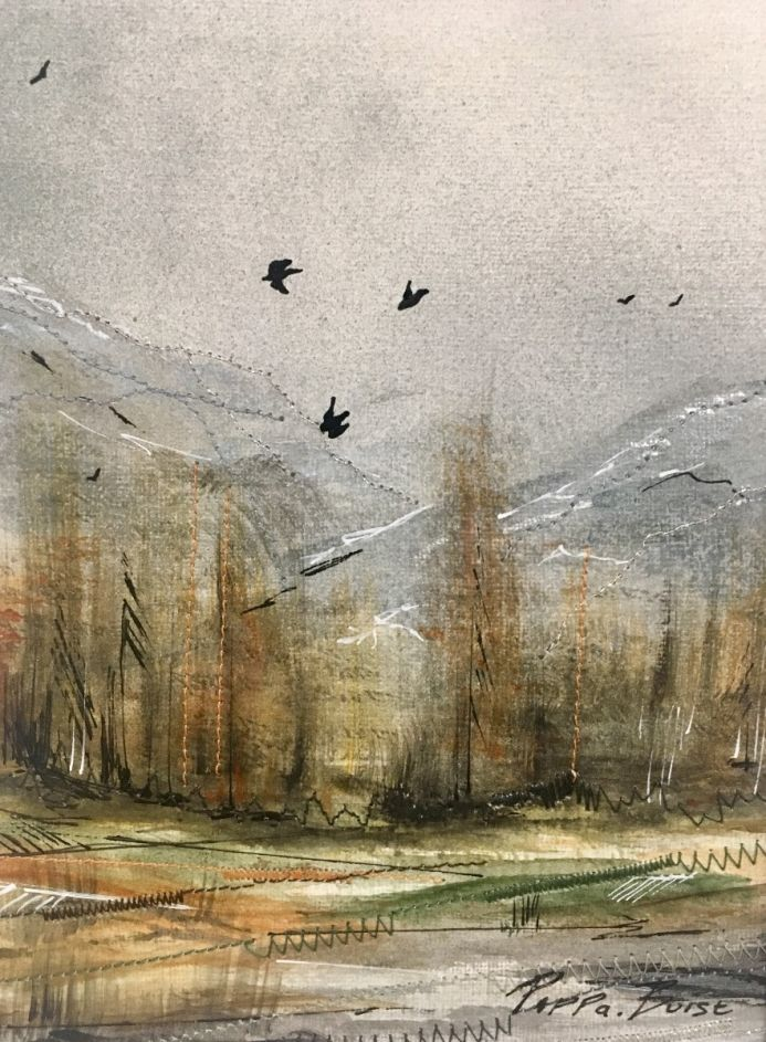 Autumn landscape II - reserved for HD
