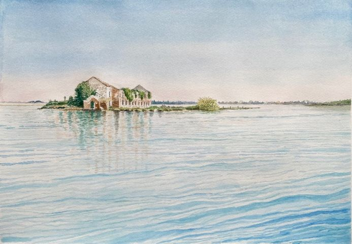 VENETIAN LAGOON IN THE EARLY MORNING