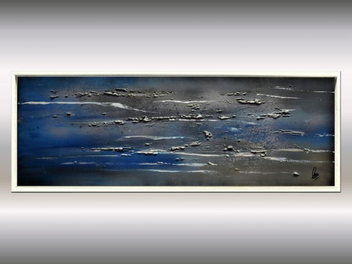 Impressions - Acrylic Painting on Canvas, Framed Artwork