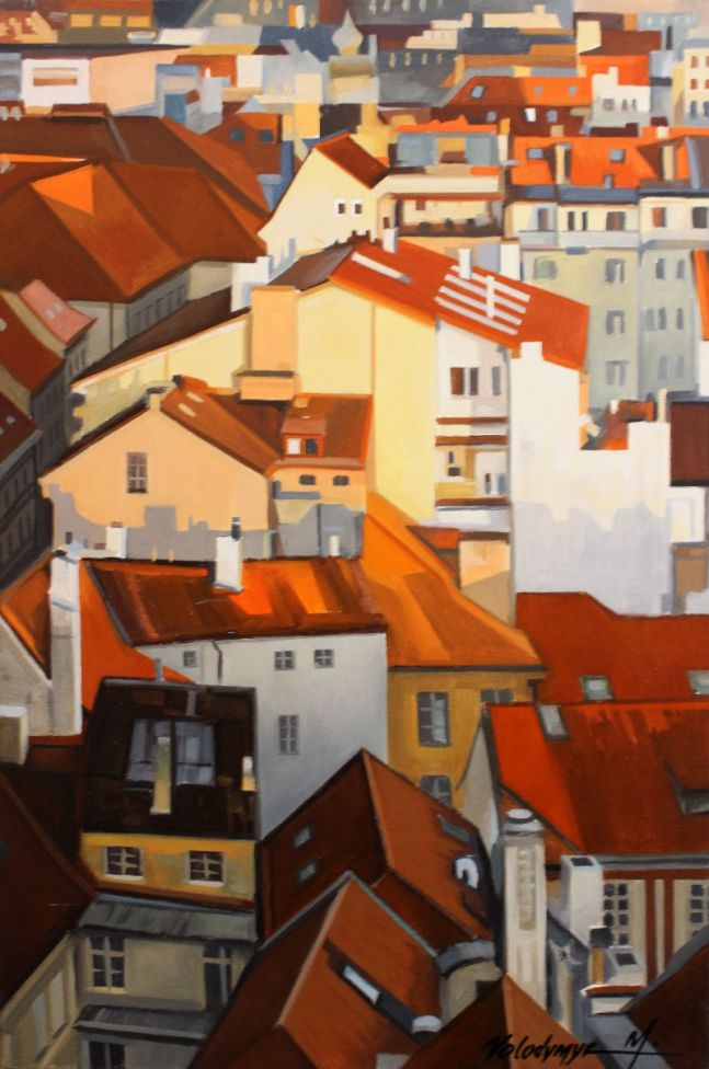Old city rooftops #5
