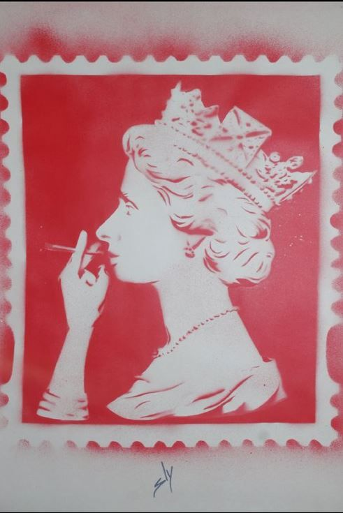Spliff Queen the 3rd Red (On Paper)