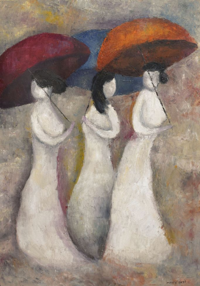 The Umbrella Ladies