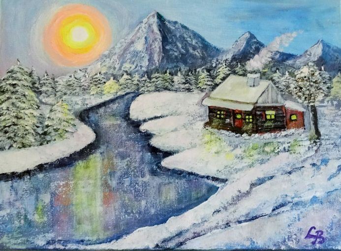 Winter Landscape - Peace, Joy and Harmony