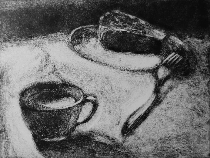 Coffee and a Cake 9x12inches