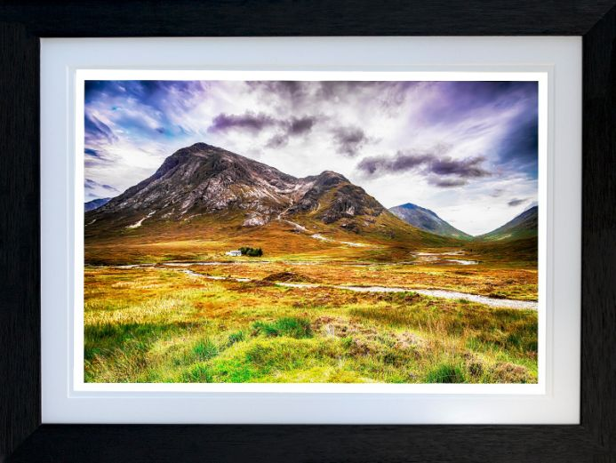LAGANGARBH COTTAGE  (Alta feadh)  - Limited Edition of 10  -- FREE WORLDWIDE SHIPPING