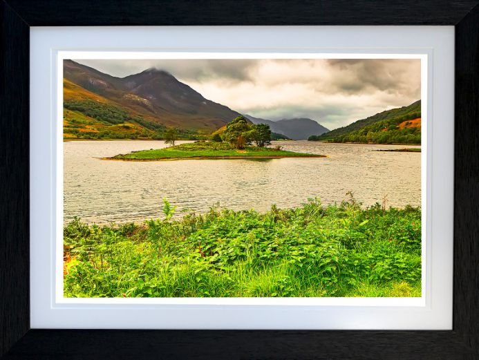 PAP of GLENCOE LOCH LEVEN  - Limited Edition of 10  -  FREE WORLDWIDE SHIPPING