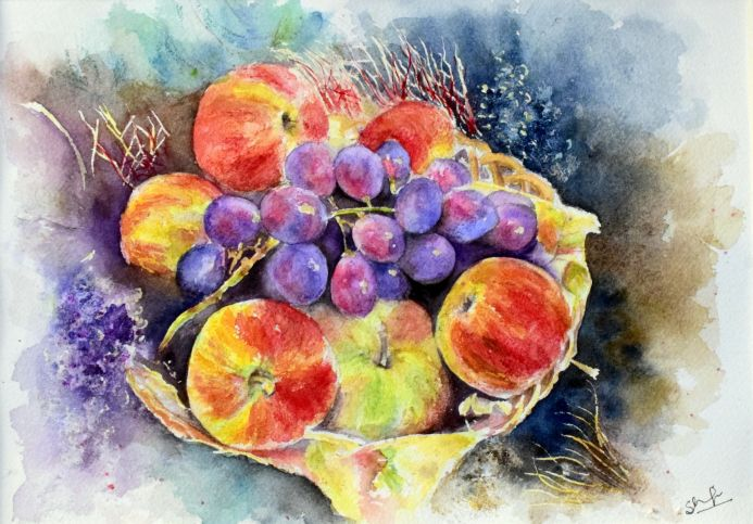 Still Life - Fruit Bowl