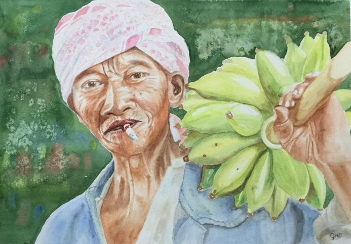 THE BANANA PICKER