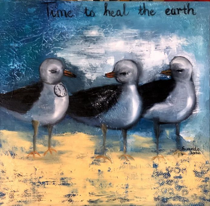 TIME no1: Time for the earth to heal
