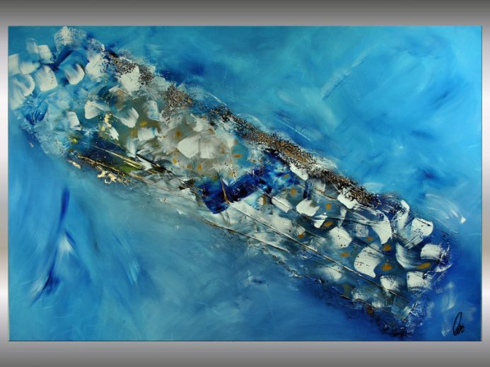 Catch a Star - Abstract Art - Acrylic Painting - Canvas Art - Abstract Painting - Industrial Art - Statement Painting