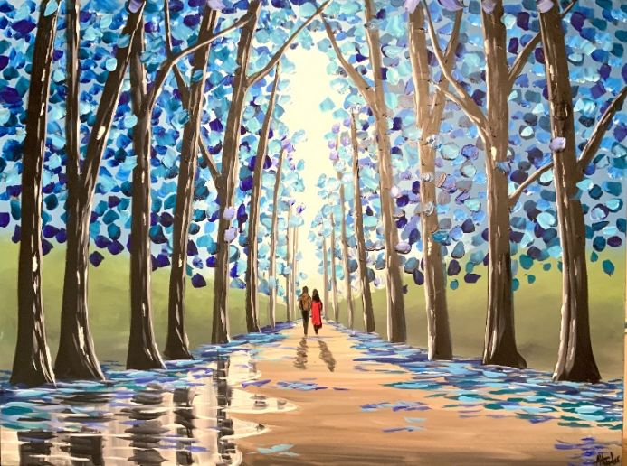 Between The Blue Trees 3
