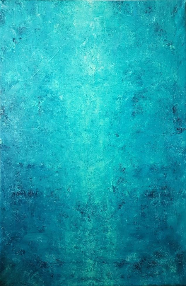 River Guard - XL blue abstract
