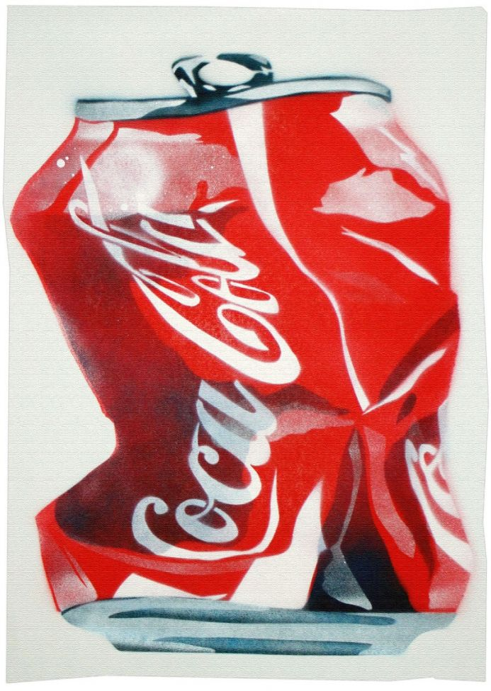 Crushed Coke (on gorgeous, thick watercolour paper)