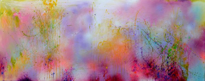 Fresh Moods 11, Large Abstract Painting