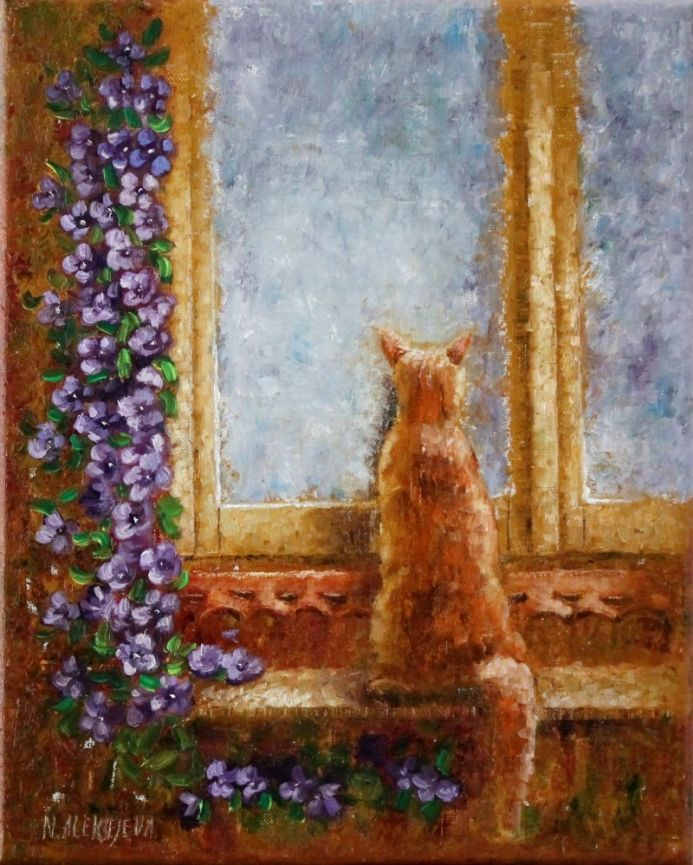 ''The return of the prodigal cat''