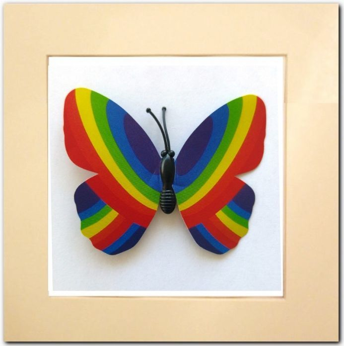 Rainbow Butterfly of Love & Hope