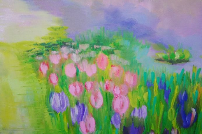 A Glorious Summer's Day by Lesley Blackburn