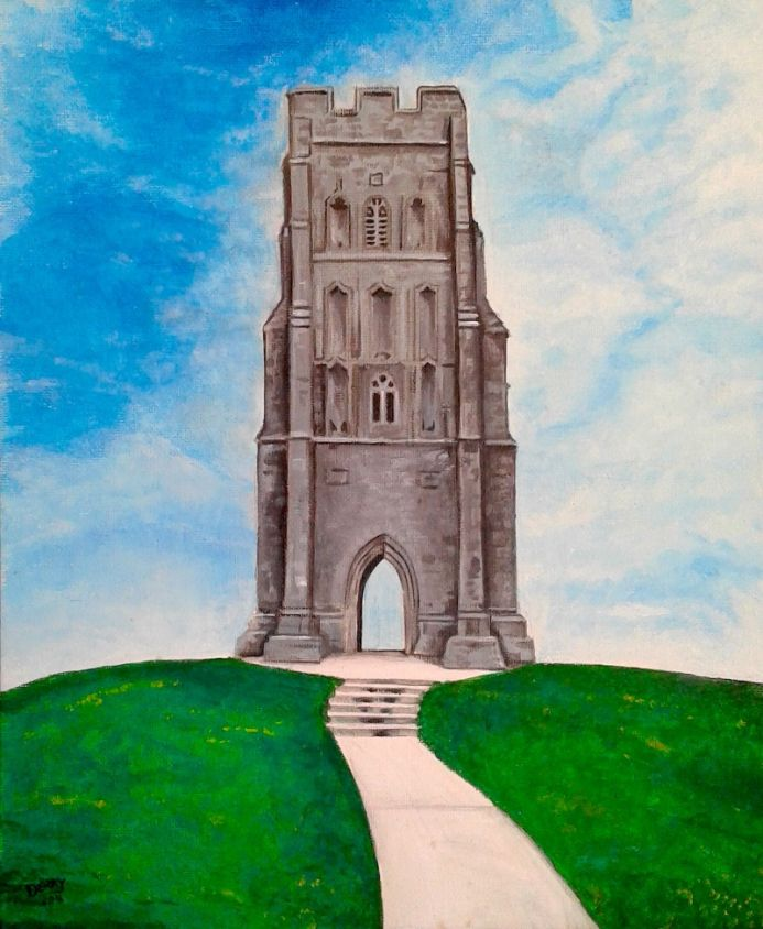 St Michael's Tower at Glastonbury Tor